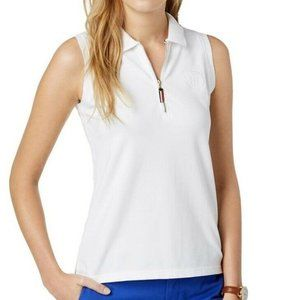 Tommy Hilfiger 0X White Polo Top NWT AK77